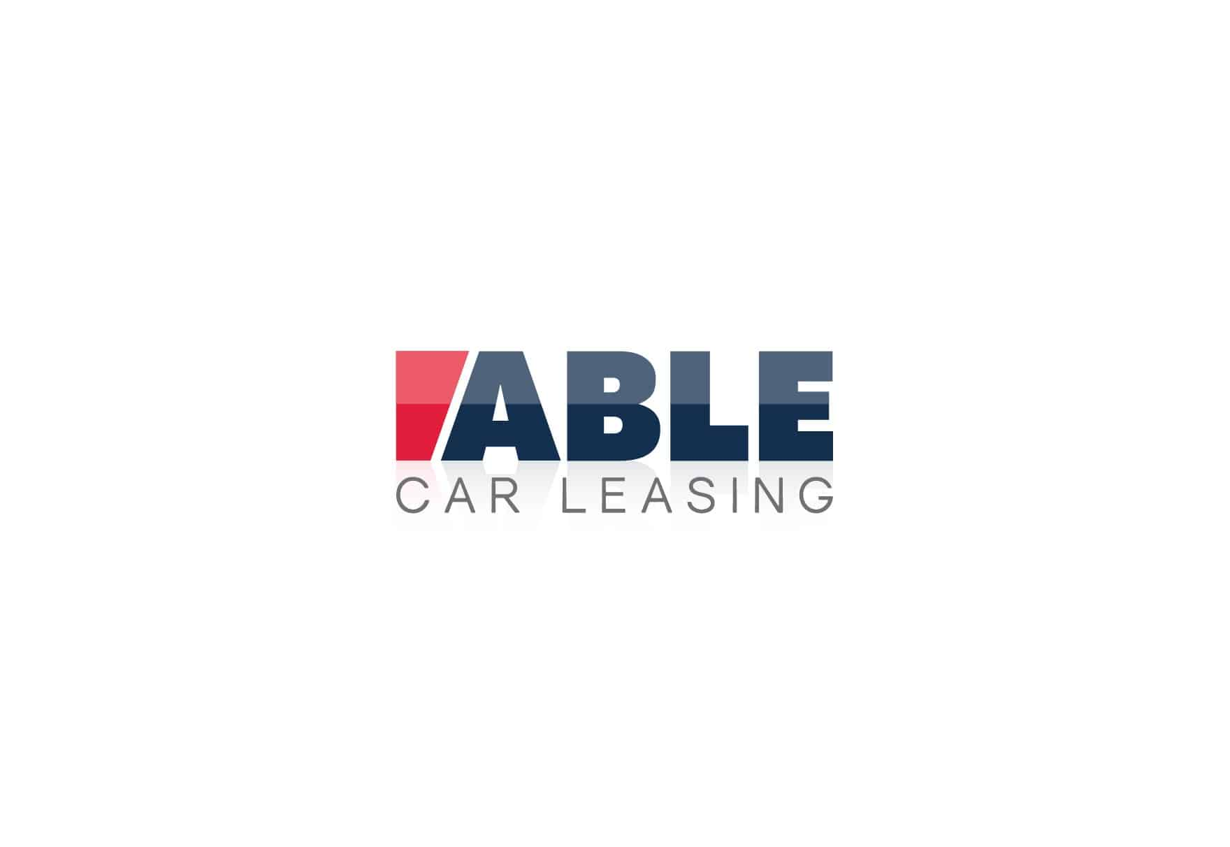 able-car-leasing-logo-design