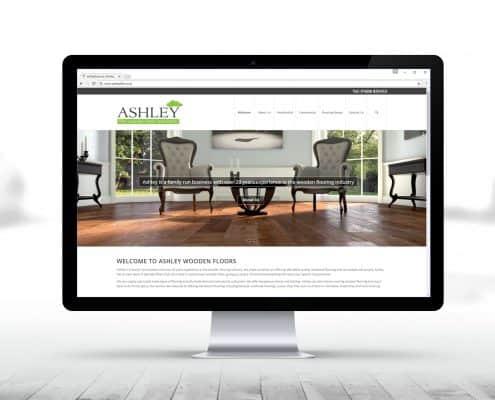 wood flooring website design
