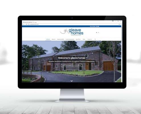 gleave-homes-website