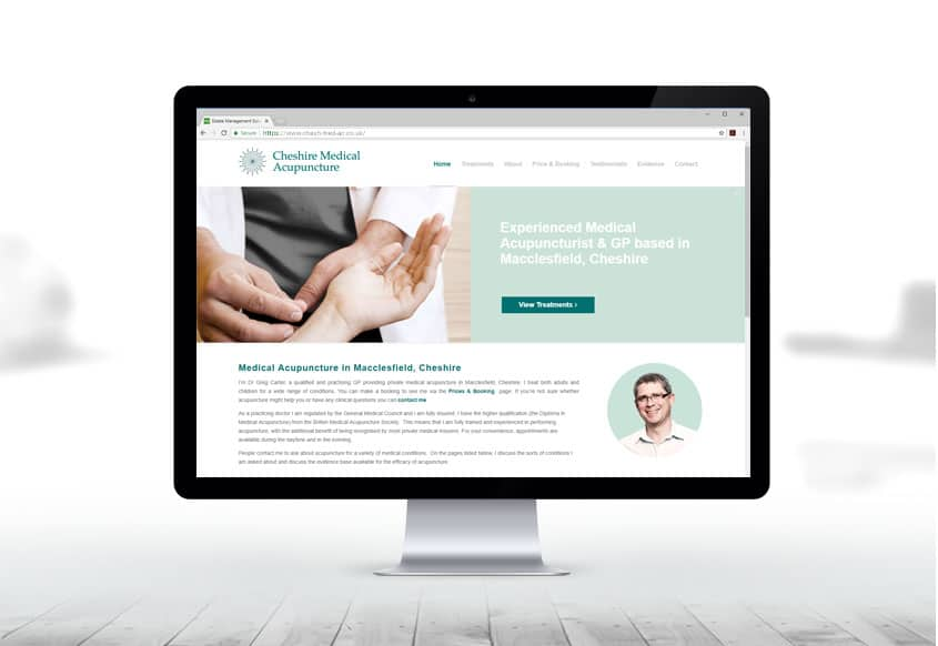 cheshire-medical-acupuncture-website-design